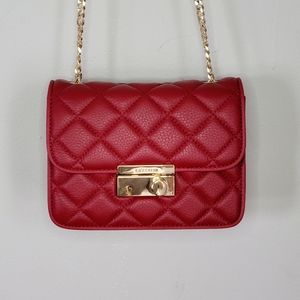 LA'FESTIN QUILTED MINI RECTANGULAR CROSSBODY FLAP